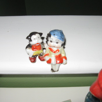Betty Boop and Bimbo Figurine - Figurines