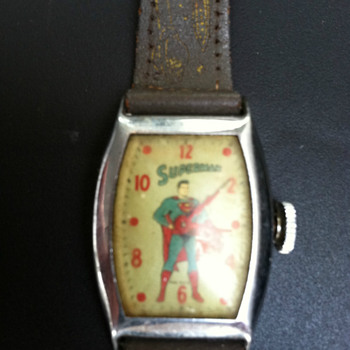 Look up in the Sky, It's a Bird, no it's a Plane, no it's Superman - Wristwatches