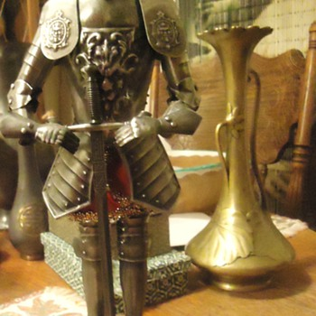 "Knight in Shining Armor!  Toledo Spain 13 1/2"" tall"
