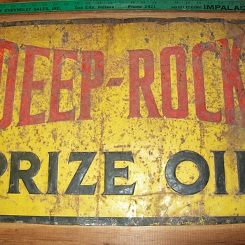 Deep-Rock oil sign - Petroliana