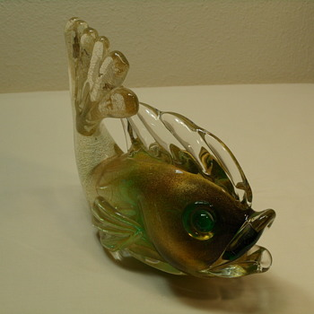 Murano Archimede Seguso Fish - Aventurine - 1950's - Post 2 of 3