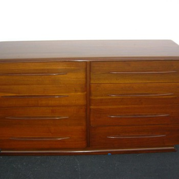 Beautiful Black Walnut Bissman Dresser - Furniture