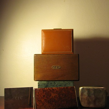 GROUPING OF VINTAGE ALFRED DUNHILL , DUNHILL , TIFFANY &amp; CO. , TVW  FRANCE, R&amp;D S.L.  - Tobacciana
