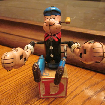 Vintage Wind-Up Toys  - Toys