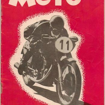"1952 - ""MOTO"" Motorcycle Magazine"