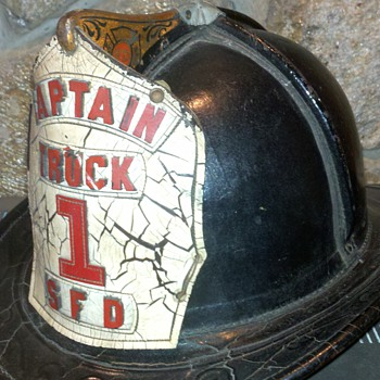 One of two Cairns 650 Seamless helmets in my collection. - Firefighting