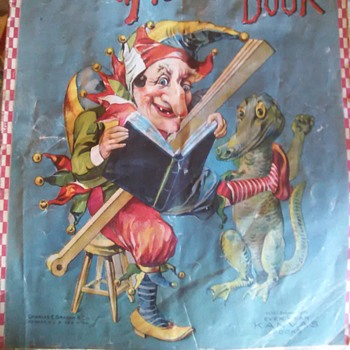 EVER WEAR KANVAS CHILDRENS BOOK EARLY 1910'S