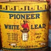 Pioneer white lead sign By W.P Fuller &amp; co.