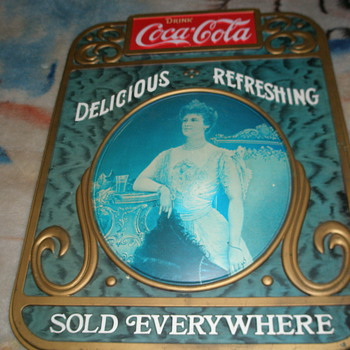 coca-cola advertising sign