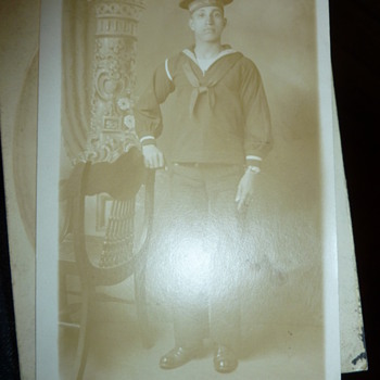 Early US Naval Reserve RPPC?
