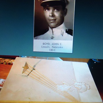 Cadet Donald Duck helps war effort 1940  as a Naval Cadet!  Over 20 drawings in 1940 Flight Book! - Books