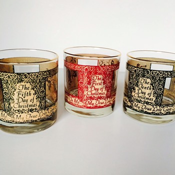 "Houze ""Twelve Days of Christmas"" Tumblers"