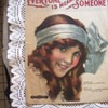 1919 SHEET MUSIC, BEAUTIFUL GIRL LITHOGRAPH BY KNAPP