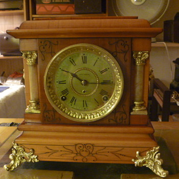Two Completely restored Clock done by Me At the shop for a very good friend