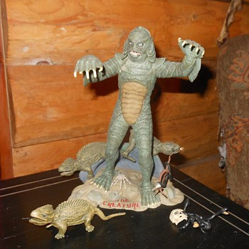 Aurora Model Creature of the Black Lagoon 1963 Original - Toys