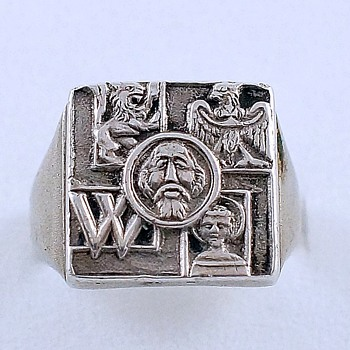 Silver Nazi Ring