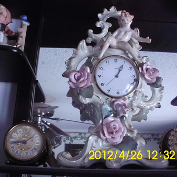Lux?? Porcelain Clock - Clocks