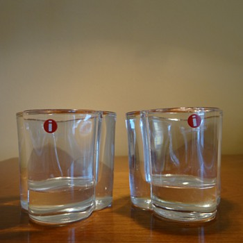 IITTALA  FINLAND  CANDLE VOTIVES  - Art Glass