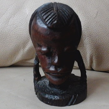 African head - Figurines