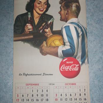 coca cola calendar - Coca-Cola