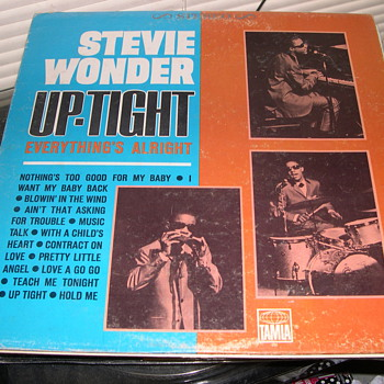 STEVIE WONDER UP-TIGHT TAMLA RECORD LABEL 268 - Records