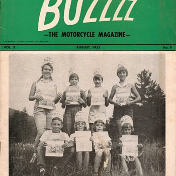 1955 - BUZZZZ Motorcycle Magazine