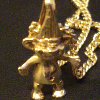 10KT Little Troll Pendant - Fine Jewelry