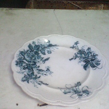1930 original england hand made & painted plates - China and Dinnerware
