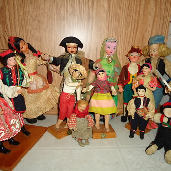 My Favorite  cloth Dolls