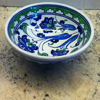 Turkish soup dish pottery. - Pottery