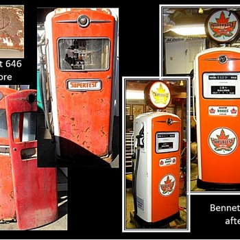 Part three of some of my restorations of gas pumps