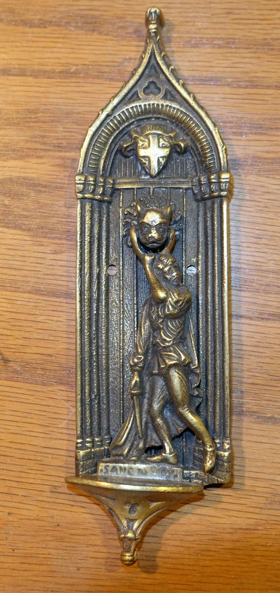 Antique brass door knockers collectors weekly - Antique brass door knocker ...