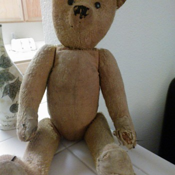 This was my Mom&#039;s Teddy Bear.