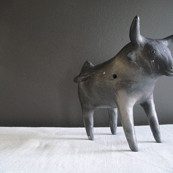 What is this Bull Statue? - Art Pottery