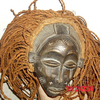 Mask from chokwe africa - Folk Art
