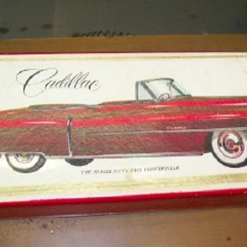 "ALPS 1952 Cadillac Eldorado Covertible 11 1/2"" - Model Cars"