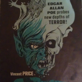 Cry of The Banshee Pressbook starring Vincent Price - Movies