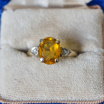 10k Gold Topaz Ring? - Fine Jewelry