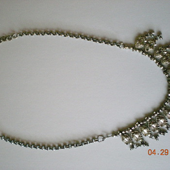 Necklaces, Earrings, Broches. and Belt Buckle - Costume Jewelry