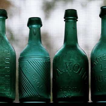 ~~~Old Pontiled Soda Bottles~~~