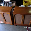 VINTAGE MAGNAVOX TUBE DUEL SPEEKER CONSOLE TURN TABLE