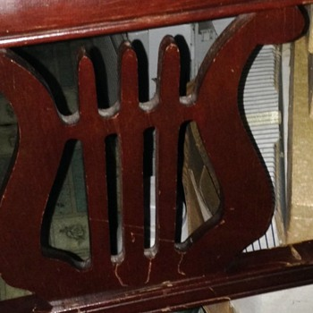 Lyre Style Chair