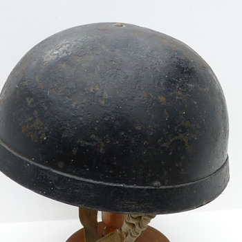 Mk1 Helmet, Steel, Royal Armoured Corps  - Military and Wartime