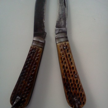 EYEWITNESS early folding knives