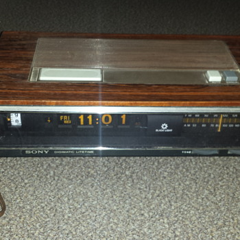 Sony Digimatic Radio