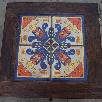 Oak and Tile California Table