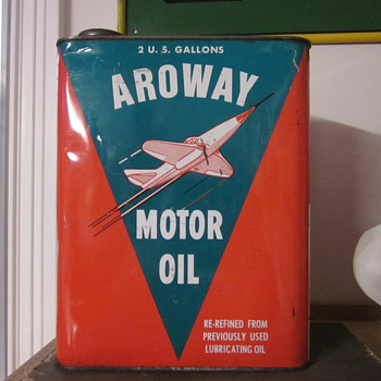 Vintage Oil Cans - Petroliana