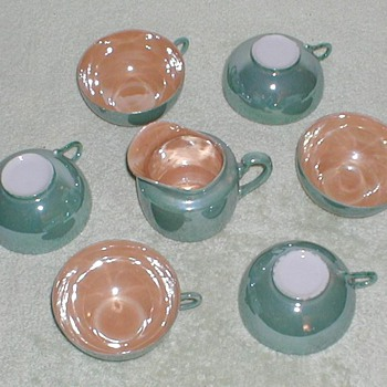 Lustreware Set - Japan