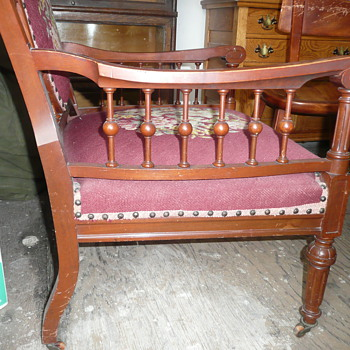 Help: Unknown Antique Needlepoint Armchair - Furniture