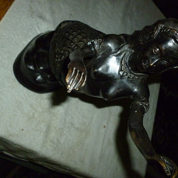bronze sculpture mermaid